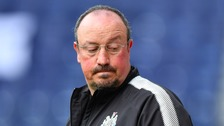 "Benitez admitted he is ""not happy"" with Newcastle's transfer business"