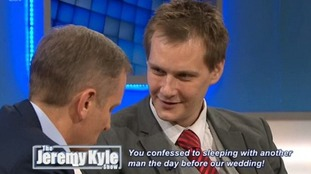 Alan Kent when he appeared on the Jeremy Kyle Show