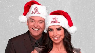 Philip Schofield and Christine Bleakley