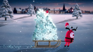 Text Santa logo