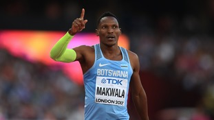 Botswana's Isaac Makwala granted time-trial in attempt to qualify for the 200m semi-finals