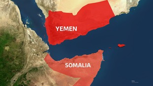 The migrants were travelling between Somalia and Yemen.