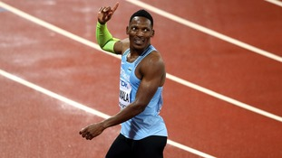 Isaac Makwala into 200m World Championships final after 'illness' scandal