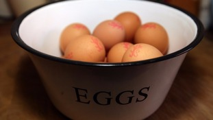 Around 85% of eggs Brits consumed are laid in the UK.