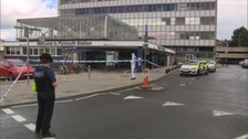49-year-old Wayne Fenton was stabbed at Plymouth station on Tuesday morning.