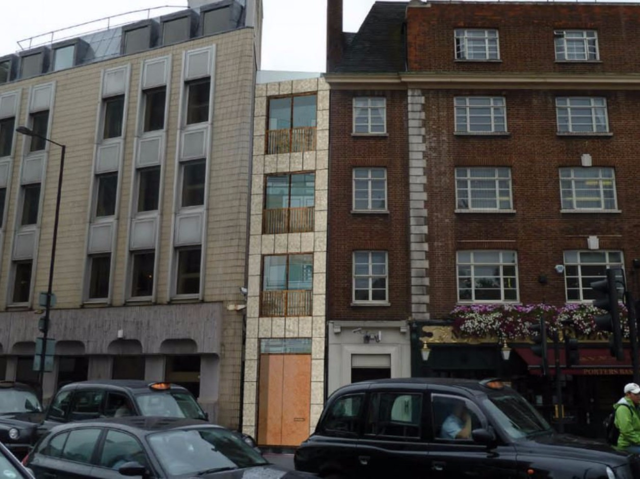39 Skinny House 39 Squeezed In To Narrow London Alleyway