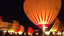 Thousands of people are set to gather for Thursday night's mass hot air balloon lift.