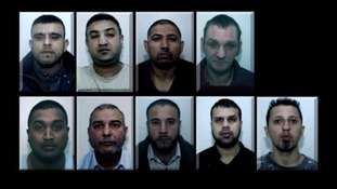 These 10 men were jailed in 2016 for sex offences in Rochdale over a five-year period.