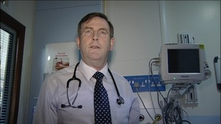 Leslie Hamilton moved from Children's surgery to adult surgery because of the pressure