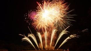 One of Selstar Fireworks' displays.