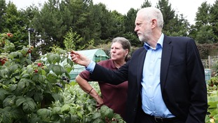 Jeremy Corbyn continues tour of region