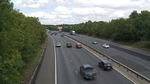 The crash happened on the M11 at Birchanger near Bishop's Stortford on Wednesday afternoon.