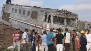 The accident was the deadliest rail incident that Egypt has seen in nearly a decade.