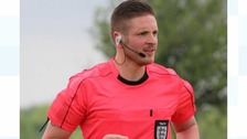 Ryan Atkin from Plymouth has become England's first openly gay professional official.