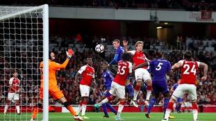 Jamie Vardy's third goal