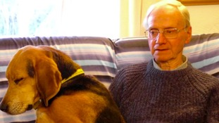 Peter Wrighton was walking his dogs in Norfolk when he was attacked.
