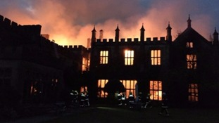 Stately home gutted by fire could be rebuilt