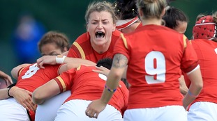 Wales in action against New Zealand