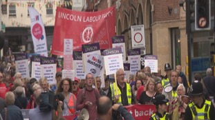 Campaigners march to save Lincoln NHS walk-in centre