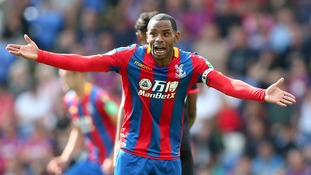 Puncheon protests with his players during their defeat.
