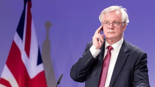 David Davis sees the publication of the papers as an 'important next step' towards Brexit