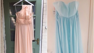 Bridesmaid dresses stolen a week before couple's wedding