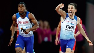 Trowbridge sprinter Danny Talbot wins Gold for GB