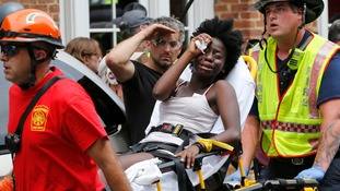 At least 19 people were injured in the attack in Charlottesville