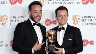 Declan Donnelly (r) convinced Ant (l) to enter rehab.