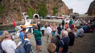 Islanders gathered in Sark to remember lives lost at sea.