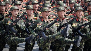 North Korea has one of the largest armies in the world.