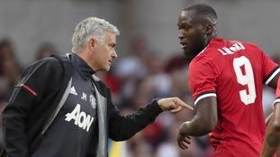 United boss Jose Mourinho praises effective Romelu Lukaku