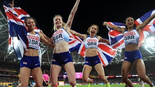 London 2017: GB win silver and bronze in 4x400m relays