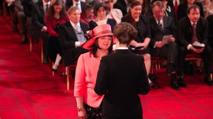 Wendy Watson was made an MBE after setting up the National Hereditary Breast Cancer Helpline