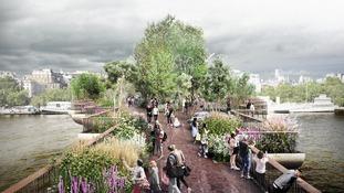 Joanna Lumley's Garden Bridge dream is over