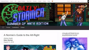 The Daily Stormer was denied service by GoDaddy over its hate speech.