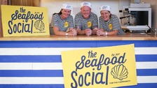 Rachel, Dean and Angie will be behind the counter at The Seafood Social