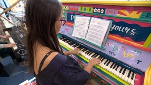 Colourful pianos ready to be scattered across Bristol
