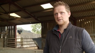 Tom Newth, a Farmer from Somerset, said the theft of over 70 of his sheep had a big impact.