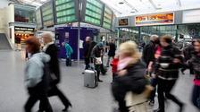 Rail passengers