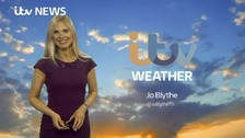 Jo Blythe is here with the early morning forecast for Tuesday.