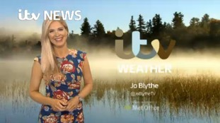 Afternoon weather update with Jo Blythe