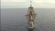 The Mayflower forms an iconic link between Plymouth and the United States.