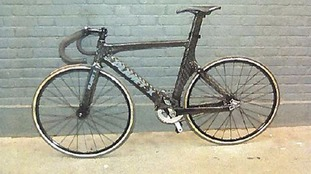 fixed wheel track bicycle that was allegedly ridden by Charlie Alliston