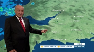 Weather: dry with warm temperatures