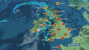 A dry and bright start for most places