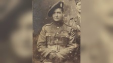 John Skinner won the Victoria Cross 100 years ago