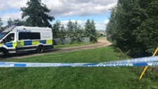 Murder investigation launched after body found in burning car