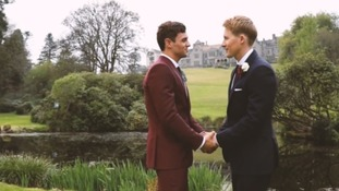Plymouth Olympic diver, Tom Daley and his Oscar-winning screenwriter husband, Dustin Lance Black, have shared a video of their wedding day.