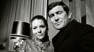 Diana Rigg and George Lazenby wed on screen but were reportedly less friendly off it.